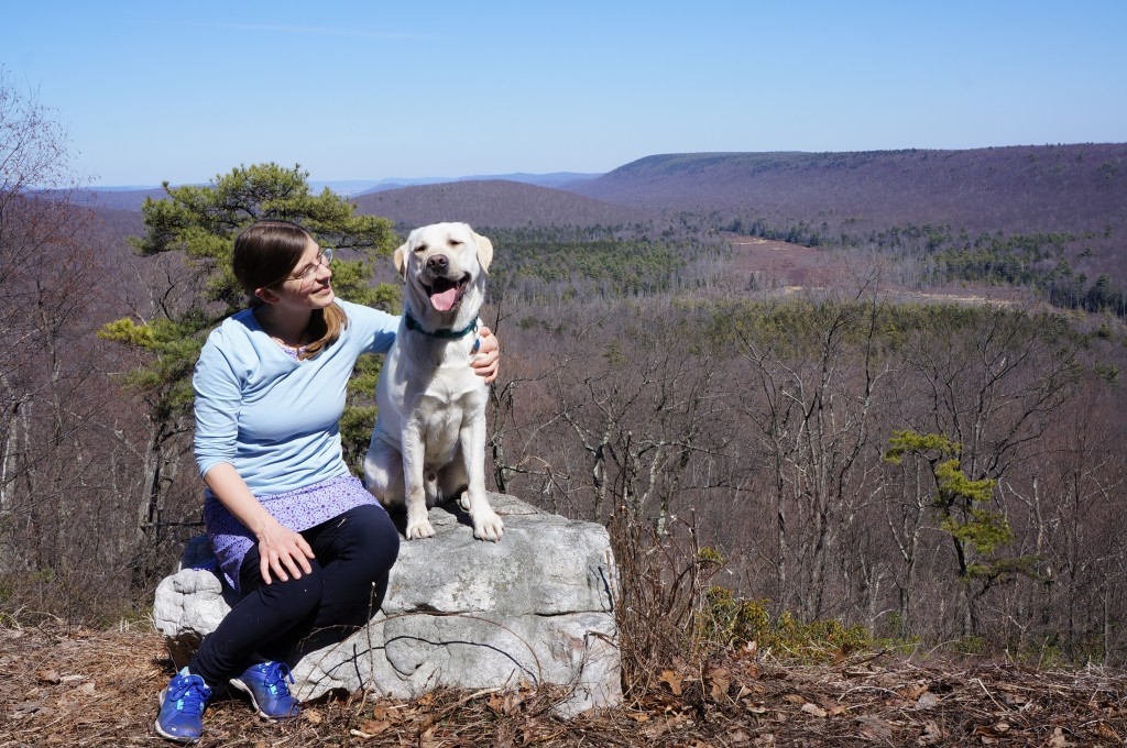 Last hike with Hamlet in Rothrock State Forest
