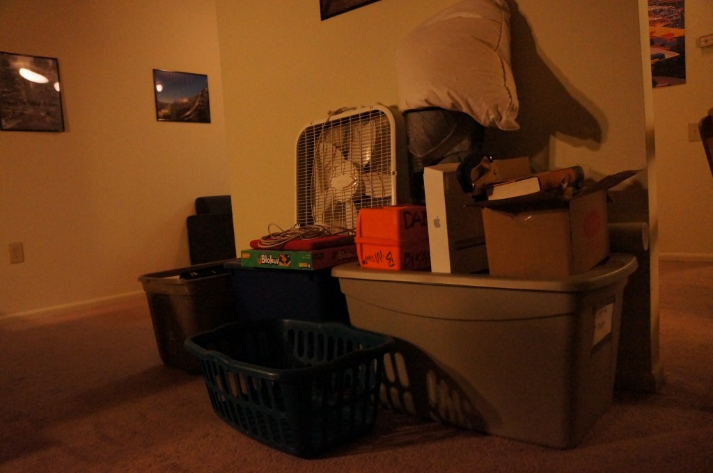 The ever-growing pile of stuff to sell or give away