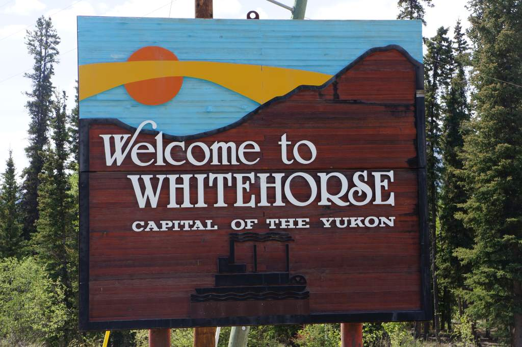 We made it to Whitehorse!