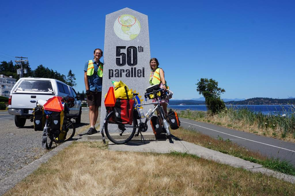 Woohoo!  50th parallel!