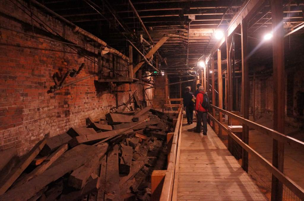 Seattle underground. This used to be