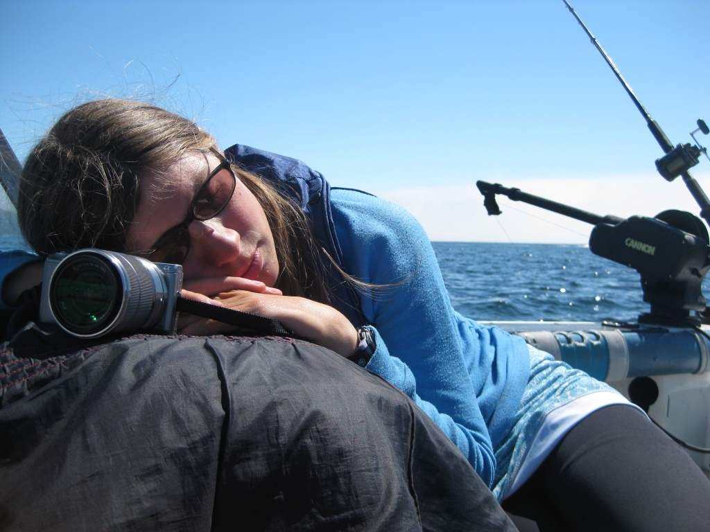 Naptime on the boat
