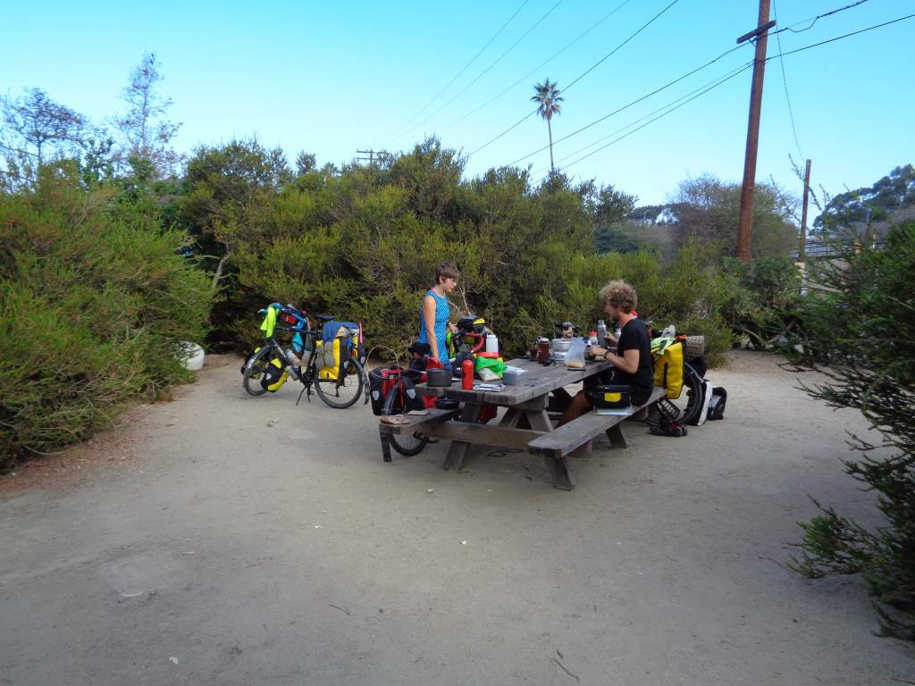 Hiker/Biker site at Doheny State Beach