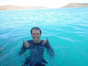 We went snorkeling in almost-too-perfect waters.
