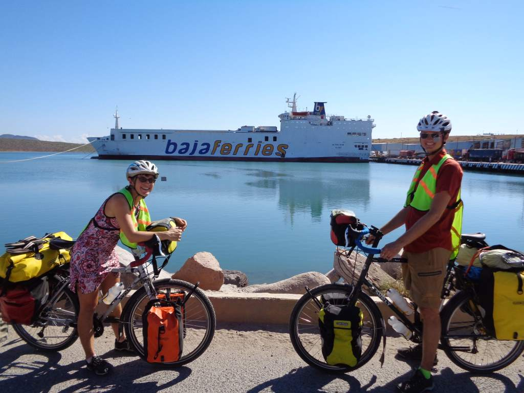 About to board the Baja ferry to Mazatlan.
