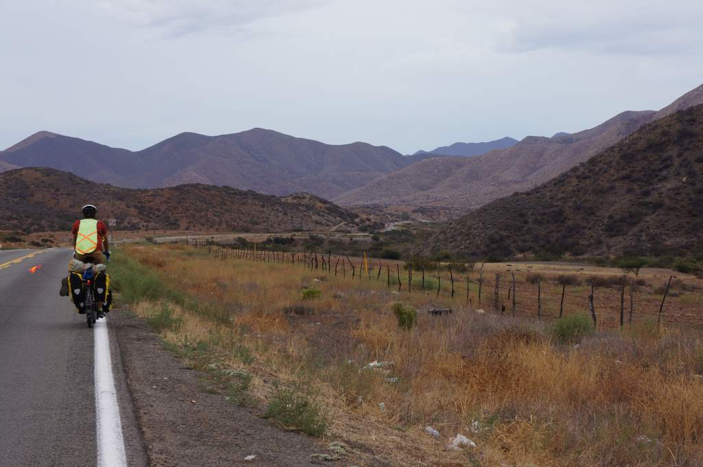One more shot of Jason with the beautiful Northern Baja scenery.