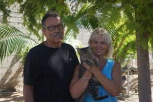 Our absolutely incredible hosts in La Paz: Jerry and Celine.  Thank you!!