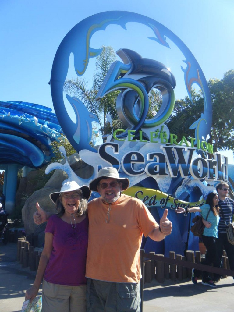 Daisy's parents enter SeaWorld