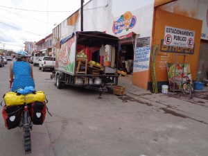 A snapshot of the chaos of the typical Mexican town.