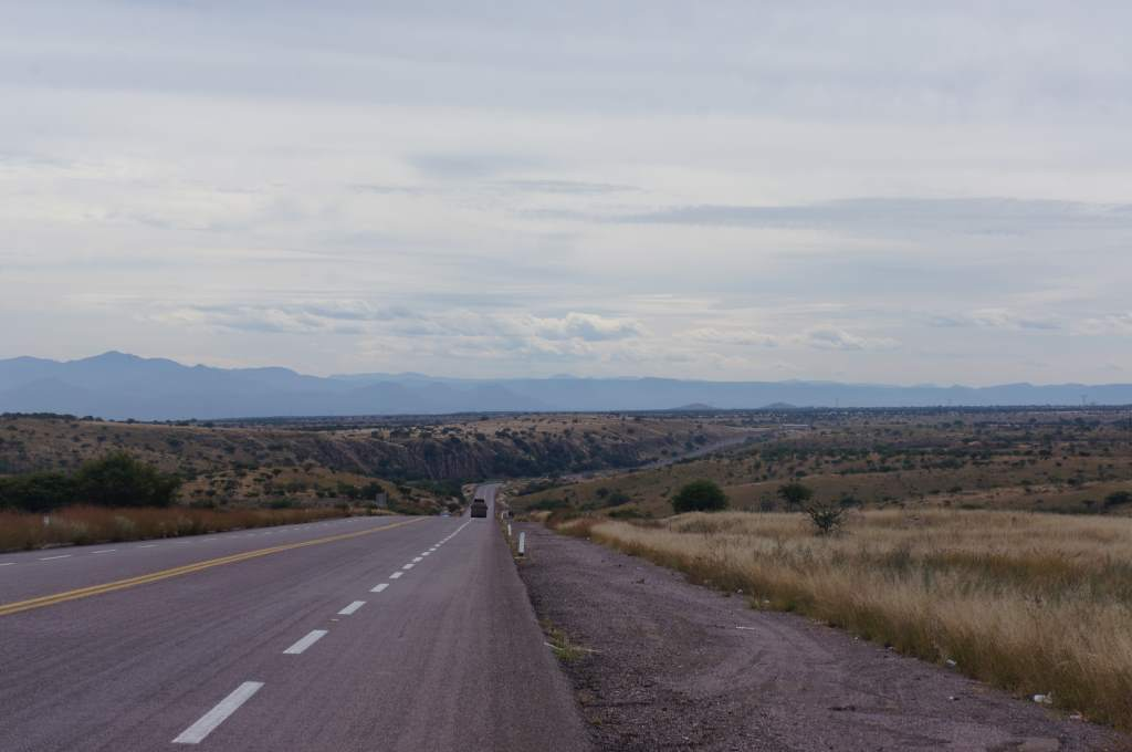 Huge vistas as we rode away from the many charms of Durango.