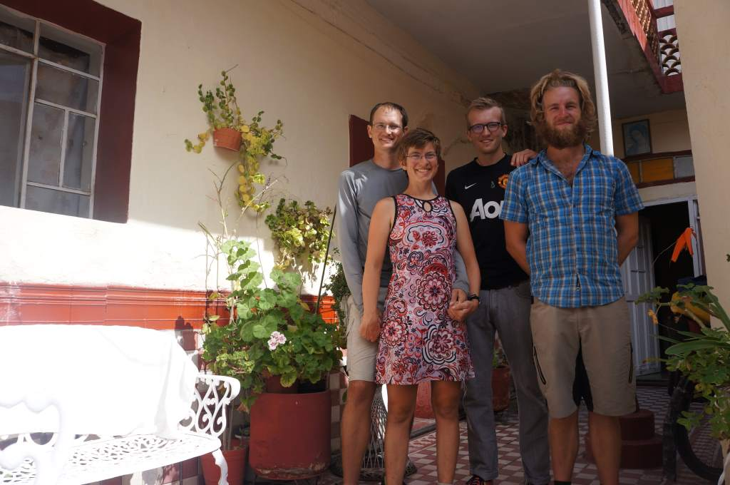 Us and our host in Aguascalients.  Thanks MJ!