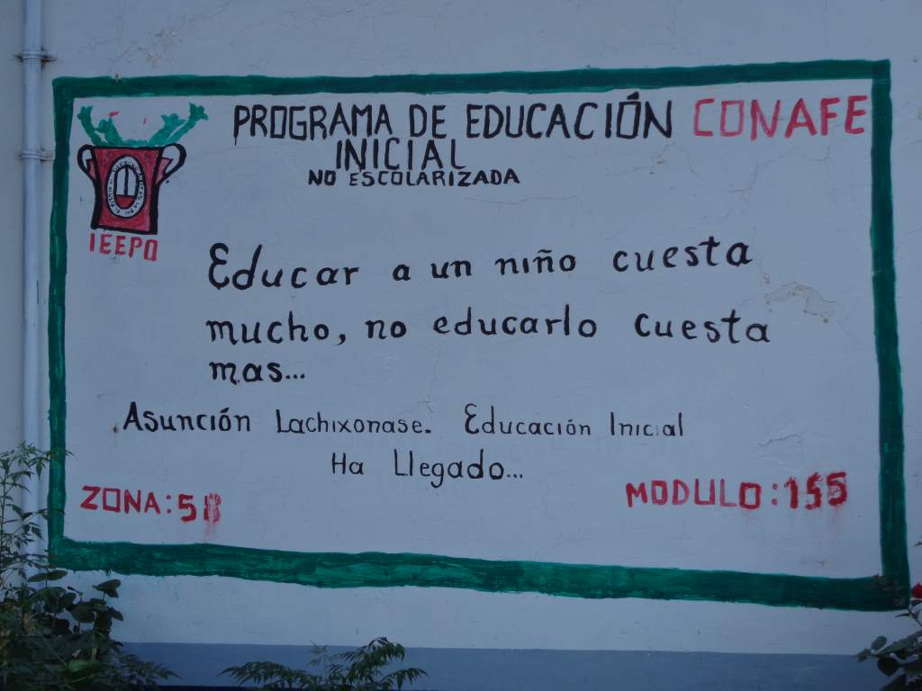 'To educate a child costs a lot, but not educating him costs more'.  We really liked this.