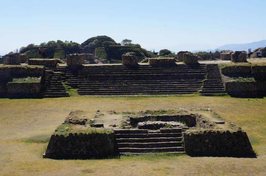 One area of Monte Alban.
