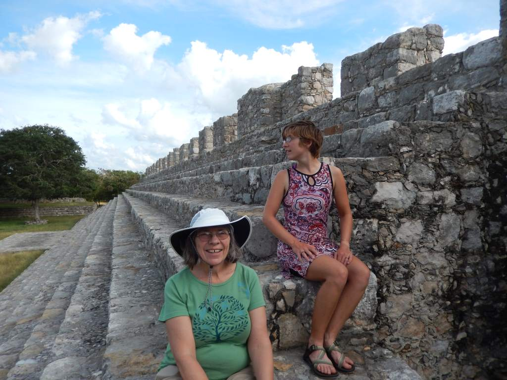 The ruins near Merida were small but fun.