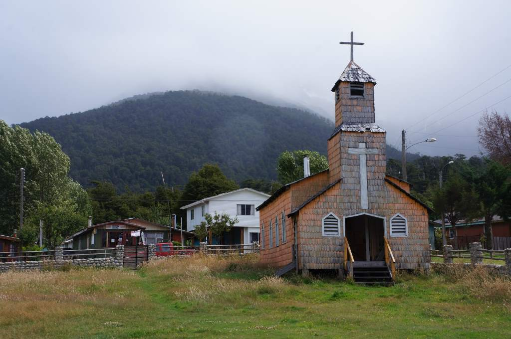 Many of the little towns have churches like this.