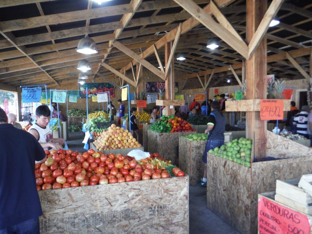 Fruit and vegetable market - it is wonderful to be in the land of fresh produce!