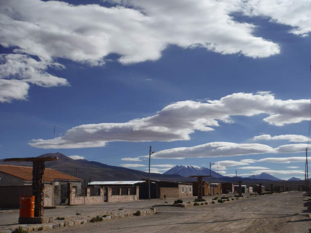 A quiet Bolivian village.