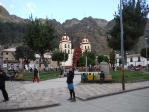 Central plaza of Huancavelica