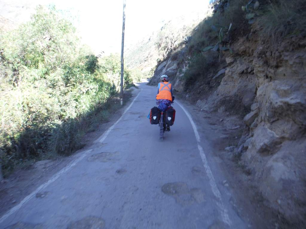 Narrow, potholed roads, but no traffic!
