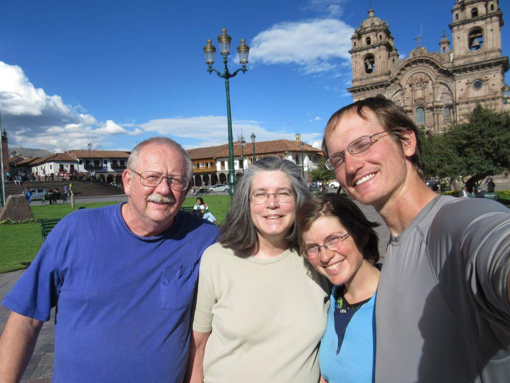 In Cusco's Plaza de Armas