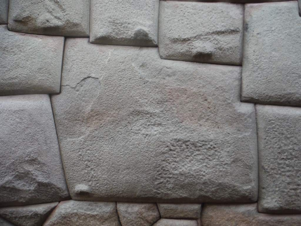 The famous 12-sided stone. Must have been hard work getting it in there!