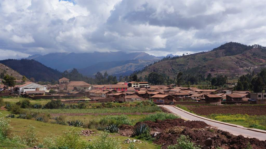 Small town just outside of Cuzco.
