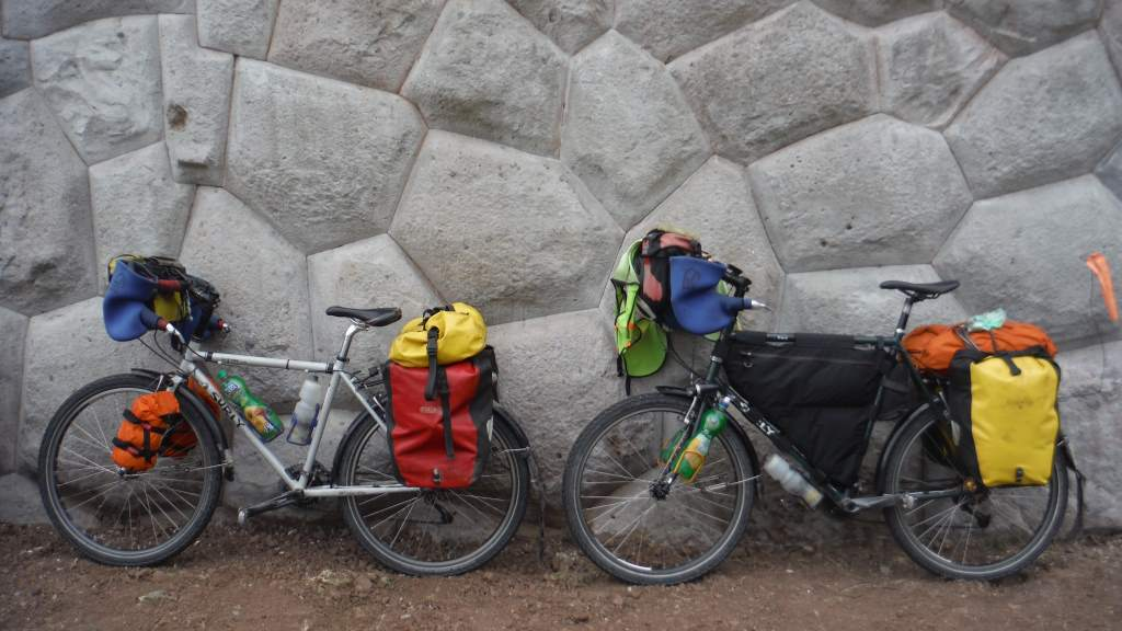 Our bikes have a new look!  We've downsized our gear to make the climbing easier.