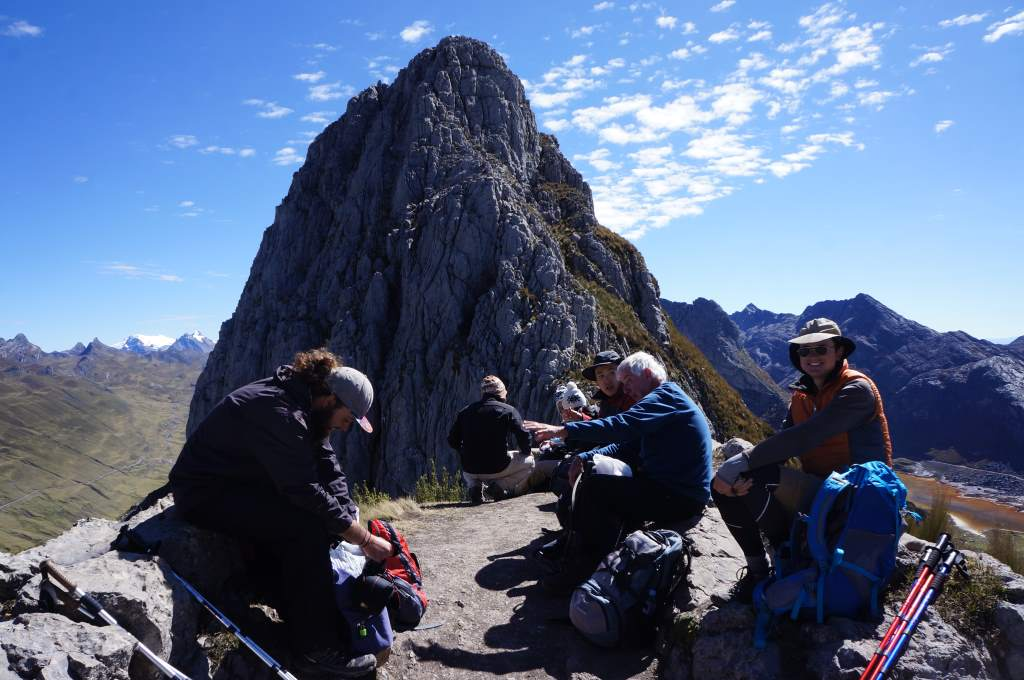 Snack time at the top