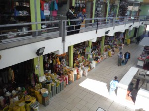 Big market in Cajamarca.
