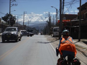 One last glimpse of the snow as we leave Huaraz